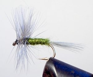 BLUE WING OLIVE (SIZE 16) Dry