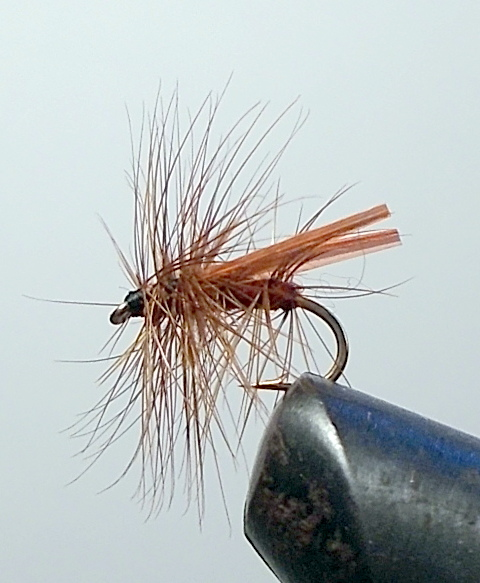BROWN HACKLE FLY (SIZE 16) Dry